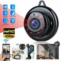 1080P Wireless WiFi CCTV Indoor/Outdoor Mini IP Camera CAM Home Security IR