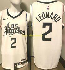 KAWHI LEONARD Los Angeles CLIPPERS Nike CITY EDITION Swingman Jersey Size M 44