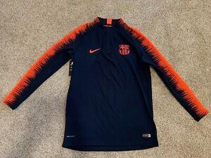 New Nike Men's FCB Aeroswift Long Sleeve Jersey Size M