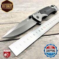 "9"" Folding Knife Fa18 Blade G10 Knives Camping Survival 7cr18mov Handle Hunting"
