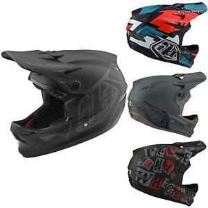 Troy Lee Designs Bike Fullface Helm D3 Fiberlite Mountainbike Downhill Freeride