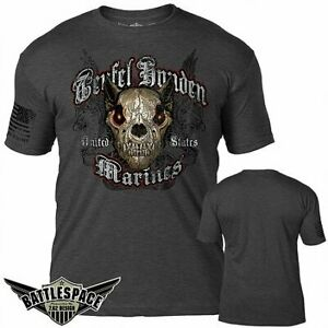 USMC Teufel Hunden T-Shirt- 7.62 Design Men's Tee Shirt
