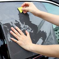 Auto Car Side Window Sun Visor Shade Cover Shield Screen Cling Stickers