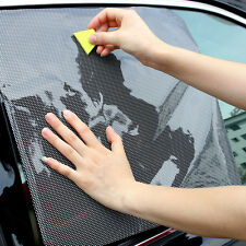 Auto Car Side Window Sun Visor Shade Cover Shield Screen Cling Stickers