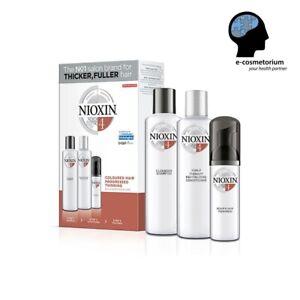 Nioxin System Starter Kit 4 for Fine Hair - Cleanser, Revitaliser, Treatment