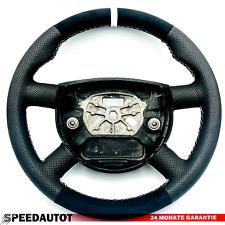 Tuning Alcantara Lederlenkrad  Lenkrad Ford Mondeo Mk3 III 494-1 Weiss Ring