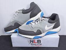 RARE 2013 NIKE + Lunar Terra Safari Men's Size 14 Gray/Black/Blue 585389-011