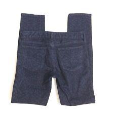 Gap 1969 Always Skinny cheetah Print stretch jeans ladies size 28/6