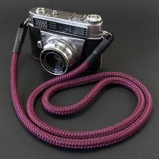 Kameragurt burgund - Kamera Seil Kameraband Tragegurt für DSLR burgundy