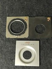 3 Linhof Technika Lens Boards