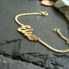 Namensarmband in 333er Gelbgold mit Wunschname, Baby, Kleinkind / Kinder Armband