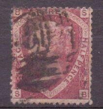1870 Fine Used Qv Sg52 Pl3 1.5d Rose-red Lovely Reduced