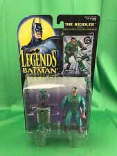 Legends of Batman Action Figure THE RIDDLER 1995 Firing Question Mark Launcher