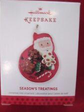 Hallmark 2013 Season's Treatings #5 Candy Nib Ornament Qx9075 bin 5