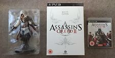 Assassins Creed 2 PS3 White Edition with Ezio Figure