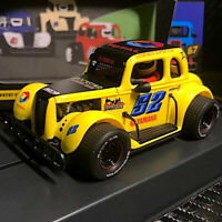 Pioneer P068 Legends Racer '34 Ford Coupe Yllow #52 Slot Car 1/32 Scalextric DPR