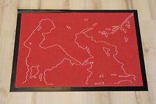 alfombrilla Felpudo grimmliis grd-905r Cuentos Diseño 50x70 cm ROJO Cenicienta