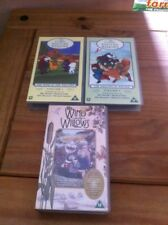 Wind In The Willows Vhs Video  Bundle  - Childrens Videos