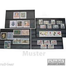 Schaubek Einsteckkarten mit  Folienstreifen  50 Stück pro Packung       K506-50