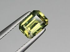Best Australian Yellow Sapphire VS 8x6mm Octagon 1.76ct Loose Natural Gemstone
