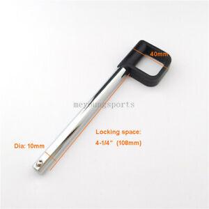 """M10,4-1/4"""" Locking space Gym Equipment Weight Stack Pin Locking Selector Pin"""