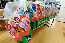 COCOMELON music theme Birthday Party Decoration supplies TABLE COVER baby shower