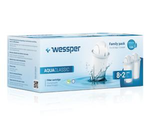 10 Filterkartuschen für Brita Classic Britta von Wessper® Wasserfilter Kartusche