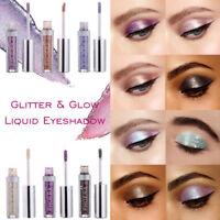 INS 12 Colors Eyeshadow Liquid Waterproof Glitter Eyeliner Shimmer Cosmetics vbd