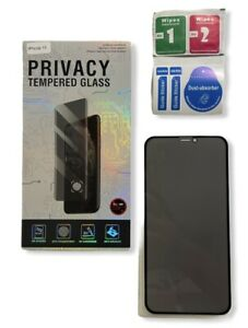 For iPhone 12/11/X/XR/XS Pro Max TPU Privacy Anti-Spy Full Screen Protector A++