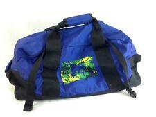 LL Bean Duffle Adventure Travel Shoulder Strap Bag Medium Blue Overnight