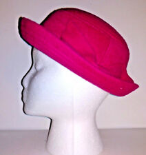 d7990c23e Hat DISNEY Girls Fedora Trilby Pink Wool Like With Bow