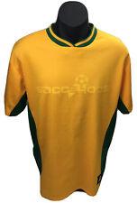 Socceroos Australia Football Jersey Shirt Soccer Yellow and Green