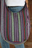 New Mong bag Boho Thai Cotton Hill Tribe Hippie Sling Shoulder CrossBody BG45