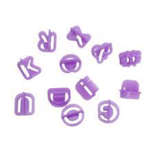 40pcs Kitchen Alphabet Number Letter Fondant Mold Cake Decorating Cutter Mould