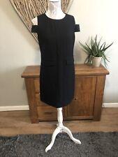 Next Bnwt Ladies Size 10 Black Dress Rrp £45 Smart Ideal Work Wear