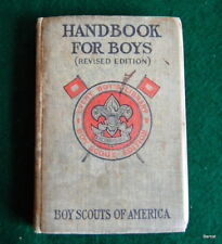 BOY SCOUT - c.1914 HANDBOOK FOR BOYS - EVERY BOY'S LIBRARY EDITION - SCARCE