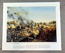 Vintage National Guard Heritage Soldiers in the Sun Donna Neary Print