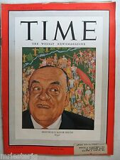 Time Magazine   August 5,1946   *Montreal's Mayor Houde*   GREAT ADS