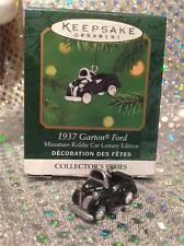 2001 Hallmark Ornament 1937 GARTON FORD  KIDDIE CAR LUXURY EDITION 4th MINIATURE