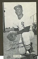 Sandy Alomar Chicago White Sox signed postcard
