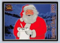 "1995  SANTA CLAUS - PACIFIC ""Seasons Greetings""  Football Card -  Near Mint"