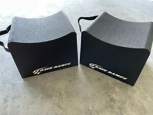 """Race Ramps RR-WC-12 12"""" High Wheel Cribs - Pack of 2"""