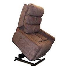 Cozzia MC-510 Mobility Lift Chair Zero Gravity Infinite Recliner Espresso Fabric