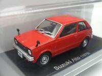 Suzuki Alto 1979 Red 1/43 Scale Box Mini Car Display Diecast Vol 119