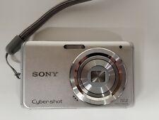 Sony Cyber-shot DSC-W180 10.1MP Digital Camera - Silver