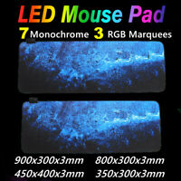 900*300MM RGB Mouse Pad Gaming Large Extended LED Mousepad USB Waterproof Mat 🔥