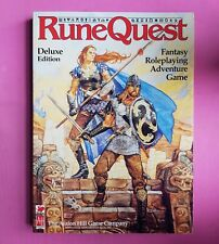 RUNEQUEST DELUXE EDITION CORE BOOK - RPG ROLEPLAYING CHAOSIUM AVALON HILL RQ BRP