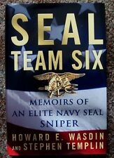 SEAL TEAM SIX: MEMOIRS OF AN ELITE NAVY SEAL SNIPER hc/dj Howard Wasdin 2011
