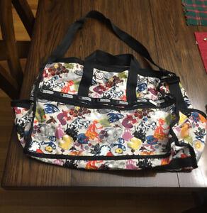 LeSportsac Large Luggage Weekender Duffle Bag