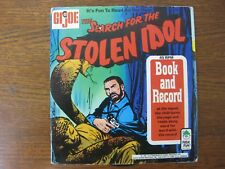GI JOE - THE SEARCH FOR THE STOLEN IDOL - COMIC & RECORD SET - HARD TO FIND!